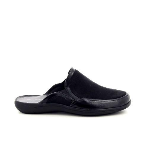 Romika  pantoffel zwart 199434