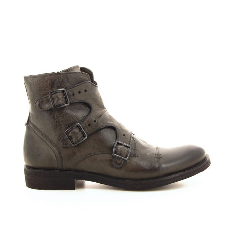 Olivier strelli herenschoenen boots grijs 19151
