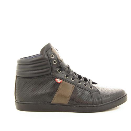 Olivier strelli herenschoenen boots zwart 12591