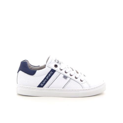 Scapa scarpe solden veterschoen wit 184027