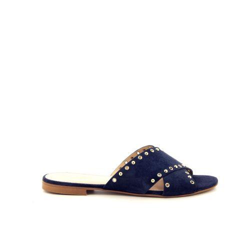 Scapa scarpe solden muiltje donkerblauw 182093