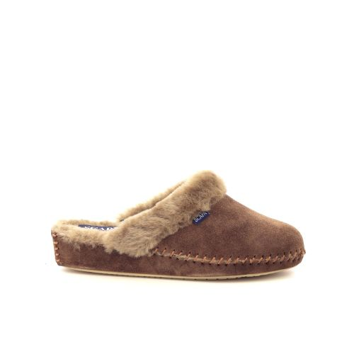 Scapa scarpe damesschoenen pantoffel blauw 199496