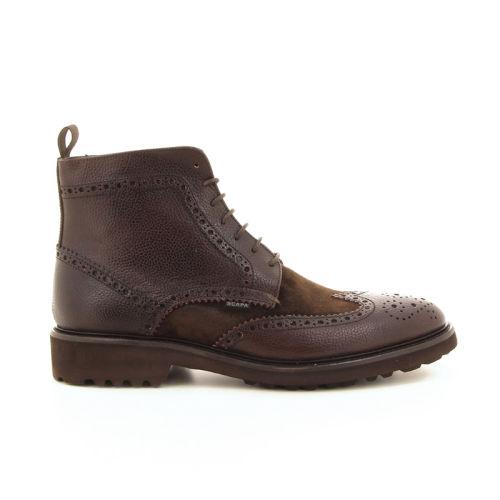 Scapa scarpe herenschoenen boots bruin 19092