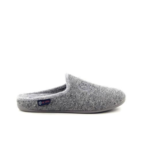 Scapa scarpe herenschoenen pantoffel grijs 188420