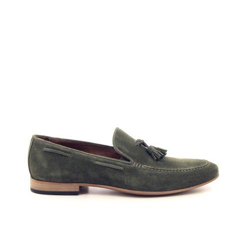 Scapa scarpe herenschoenen mocassin groen 193709