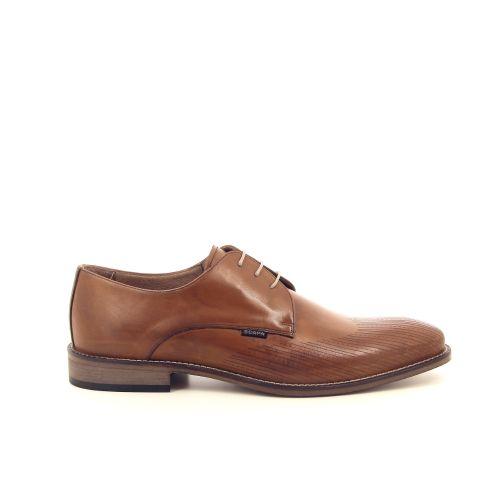 Scapa scarpe herenschoenen veterschoen cognac 183268