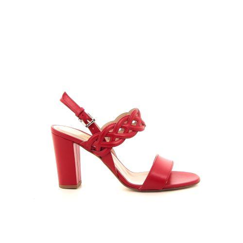 Scapa scarpe damesschoenen sandaal rood 184902