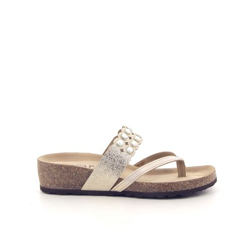 Scapa scarpe damesschoenen sleffer goud 182086