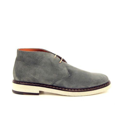 Santoni herenschoenen boots kaki 184769