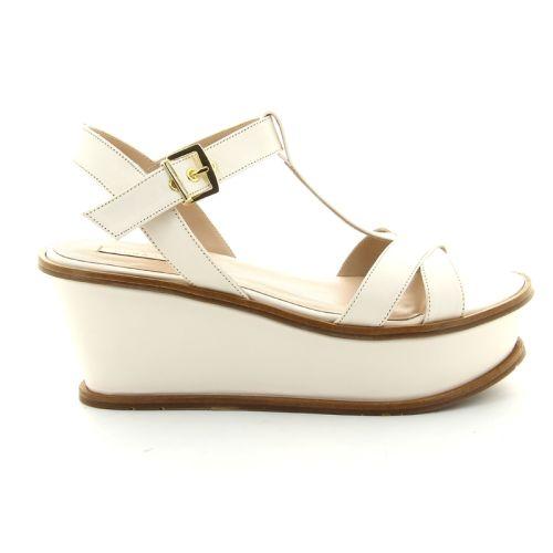 Pura lopez  sandaal ecru 87398