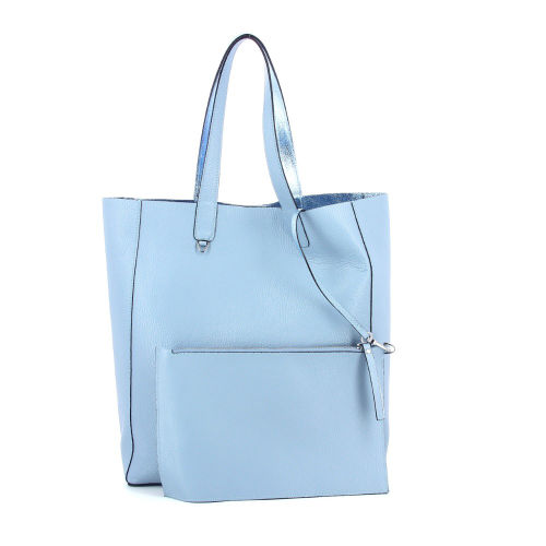 Abro tassen handtas lichtblauw 185579