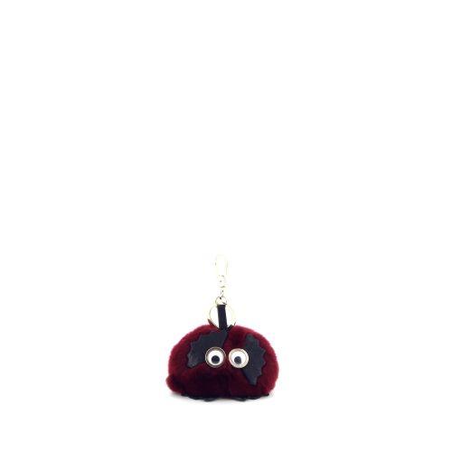 Abro accessoires sleutelhanger rood 20837