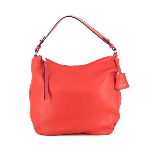 Abro tassen handtas rood 185496
