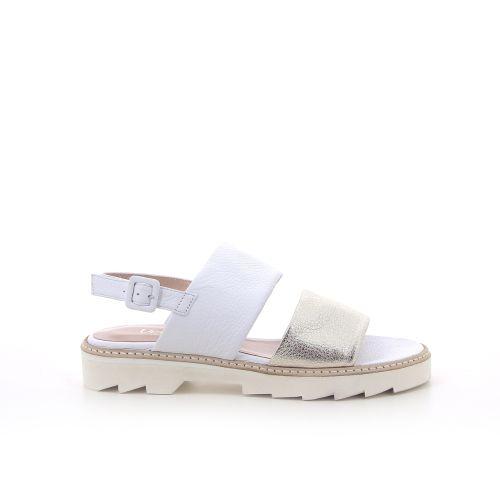 Voltan damesschoenen sandaal wit 191608