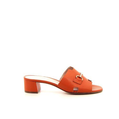 Voltan damesschoenen sleffer oranje 195414