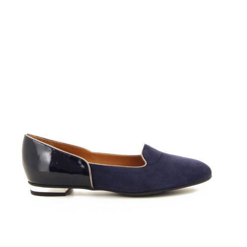 Voltan damesschoenen mocassin blauw 16506