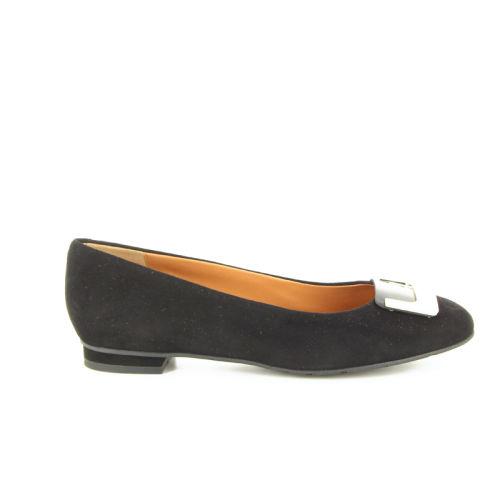 Voltan damesschoenen ballerina zwart 16517