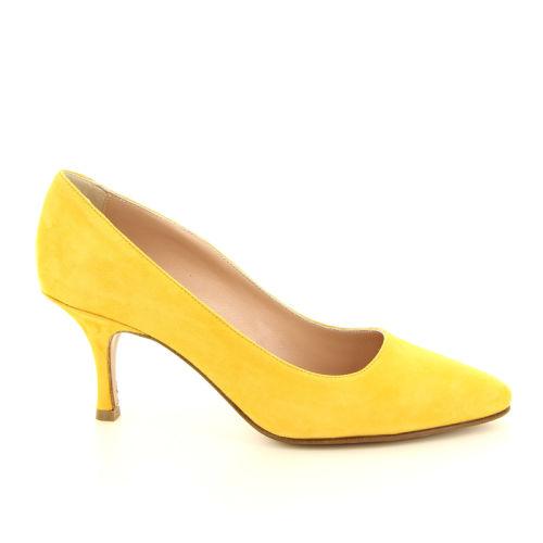 Voltan damesschoenen pump geel 168017
