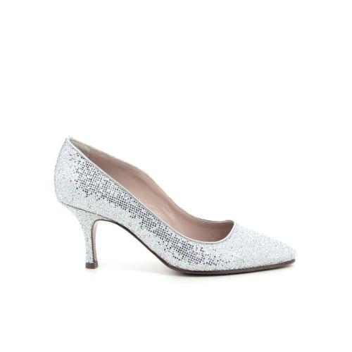 Voltan damesschoenen pump zilver 168017