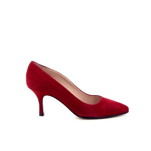 Voltan damesschoenen pump rood 12574