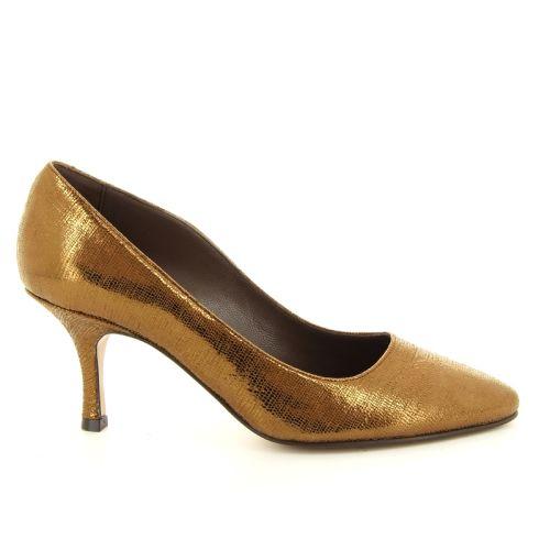 Voltan damesschoenen pump goud 12574