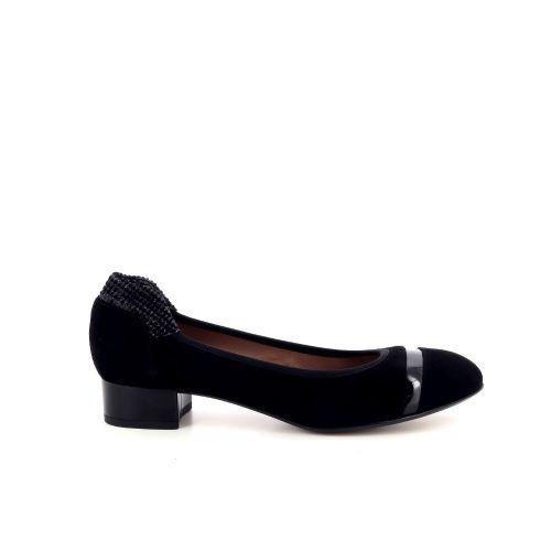 Voltan damesschoenen ballerina zwart 168006