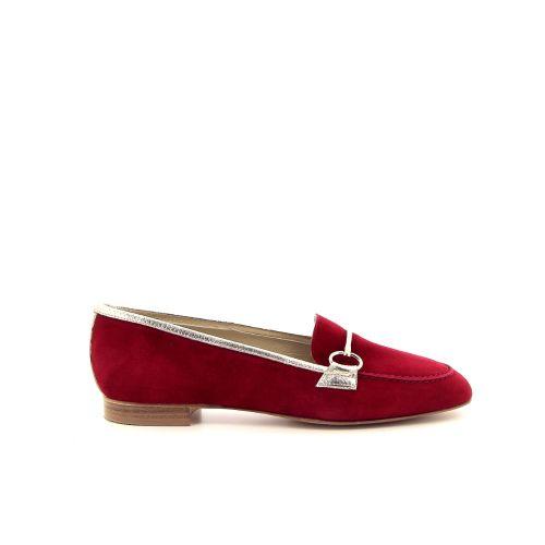 Voltan ballerina mocassin rood 185253