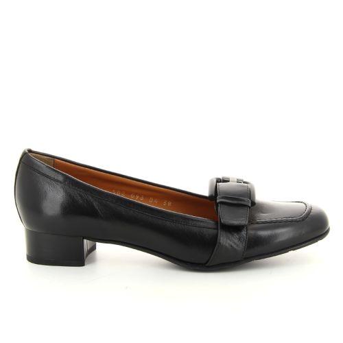 Voltan damesschoenen mocassin zwart 16579
