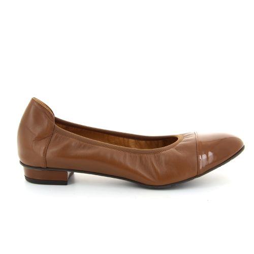 Voltan damesschoenen ballerina cognac 16510