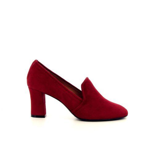 Voltan damesschoenen mocassin rood 187207