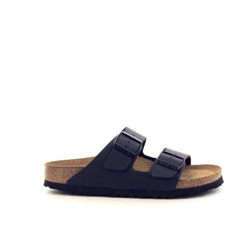 Birkenstock damesschoenen sleffer zwart 192296