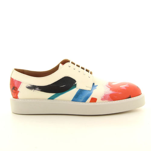 Paul smith damesschoenen veterschoen d.rood 98051