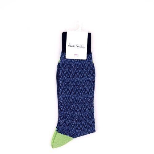 Paul smith accessoires kousen blauw 192067