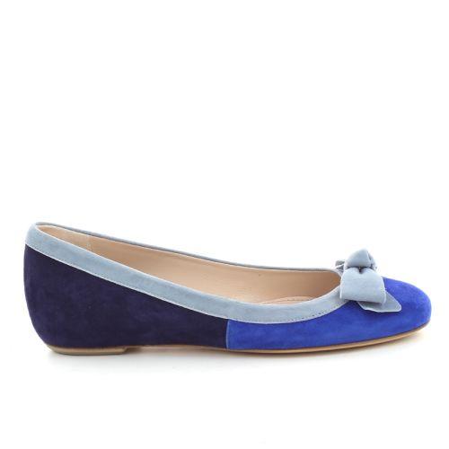 Rotta damesschoenen ballerina blauw 86302