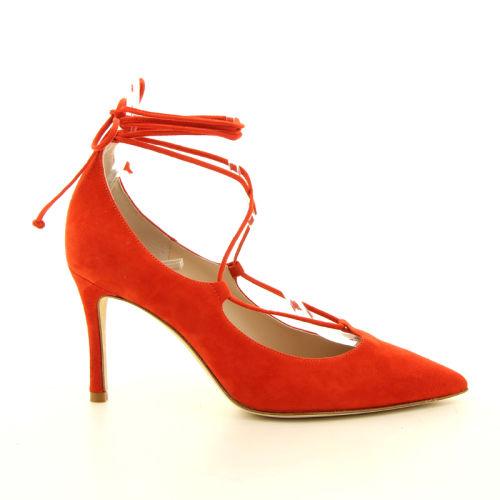 Rotta damesschoenen pump rood 12852