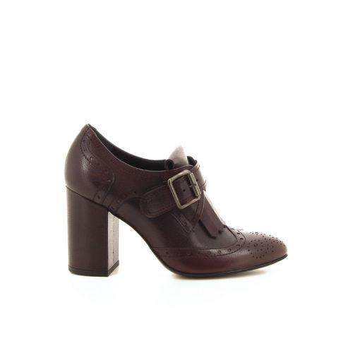 Rotta damesschoenen mocassin rood 17053