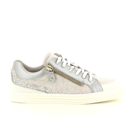 Maripe damesschoenen sneaker zilver 98731