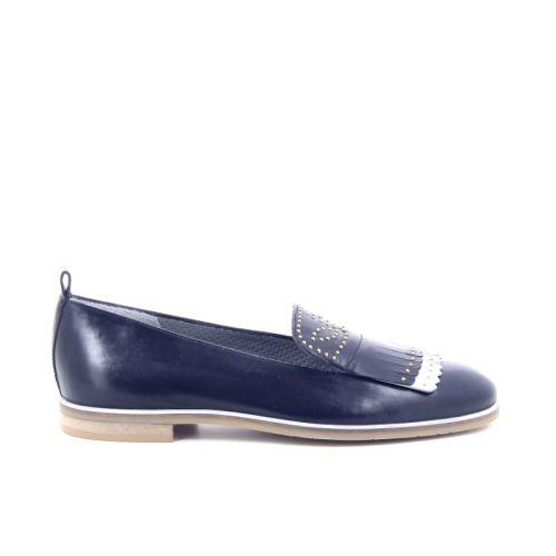 Maripe damesschoenen mocassin donkerblauw 169091