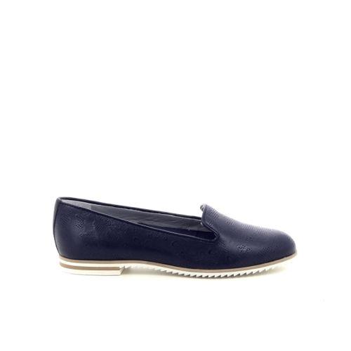 Maripe damesschoenen mocassin blauw 169089