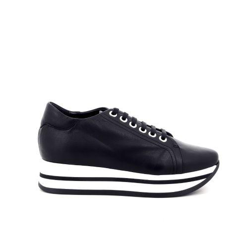 Benoite c damesschoenen sneaker zwart 201441