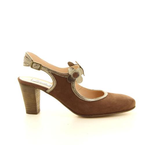 Benoite c damesschoenen sandaal bruin 13749