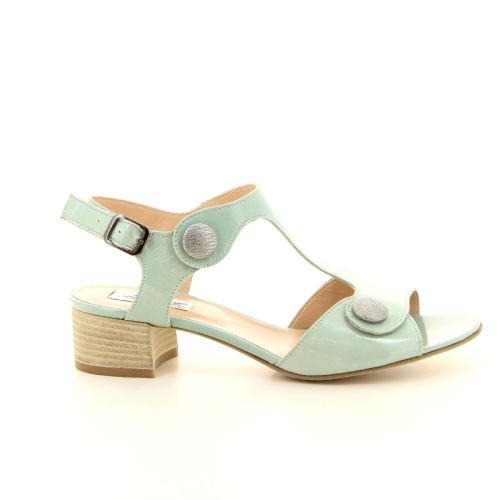 Benoite c damesschoenen sandaal groen 13739