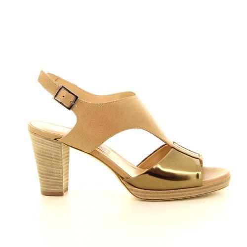 Benoite c damesschoenen sandaal cognac 13807