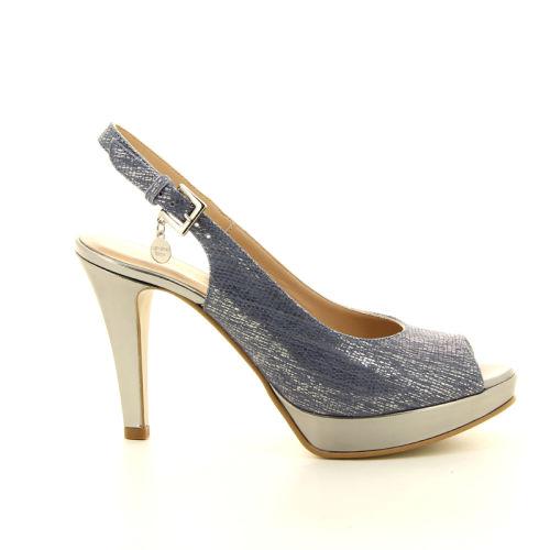 Caroline biss damesschoenen sandaal lichtblauw 10416