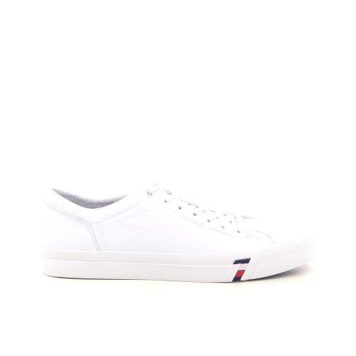 Tommy hilfiger herenschoenen sneaker wit 192507