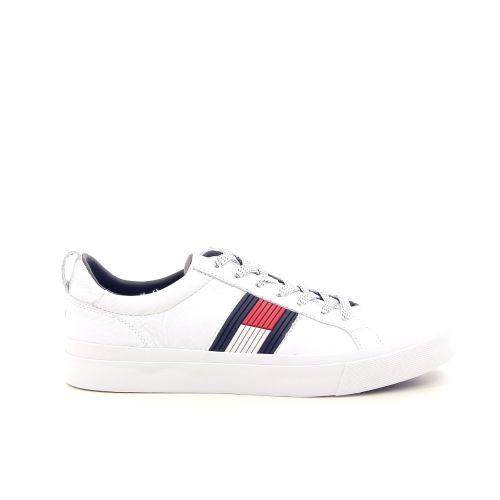 Tommy hilfiger herenschoenen sneaker wit 192504