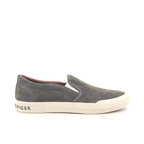 Tommy hilfiger herenschoenen sneaker kaki 181877