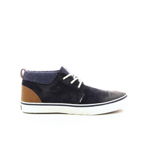 Tommy hilfiger herenschoenen sneaker blauw 16914