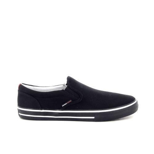 Tommy hilfiger herenschoenen sneaker zwart 181888