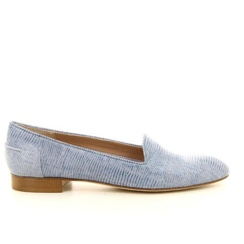 Lorenzo masiero damesschoenen mocassin blauw 14346